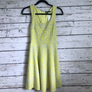 Brixon Ivy NWT Yellow Floral Sleeveless Dress